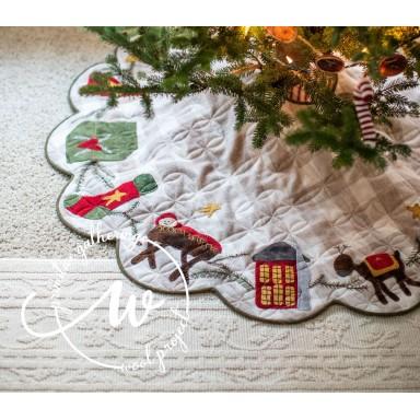 Christmas Time Tree Skirt
