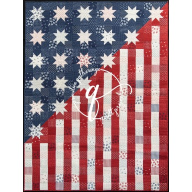 Our Flag Stands For Freedom Pattern
