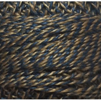 Blue and Gold Twisted Tweed #12