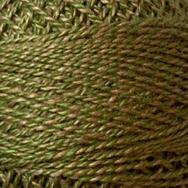 Green Twisted Tweed #12