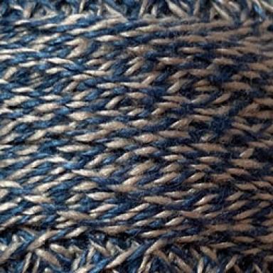 Blue Twisted Tweed #12