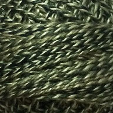 Dark Green Twisted Tweed #12