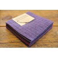 Purple Wool Charms
