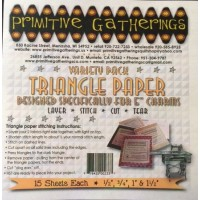 """Variety Pack for 5"""" Charms Triangle Papers"""