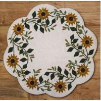 Vintage Sunflower Mat