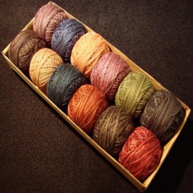 Heirloom #12 Perle Cotton Set