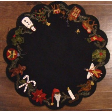 Christmas Time Table Mat